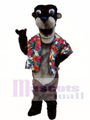 Otto Otter Mascot Costume Animal