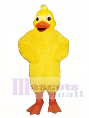 Cute Duckie Duck Mascot Costume Poultry