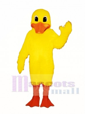 Cute Dudley Duck Mascot Costume Poultry
