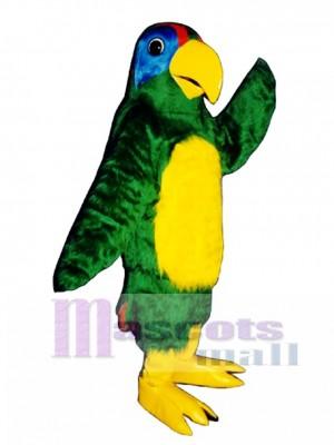 Cute Polly Parrot Mascot Costume Bird