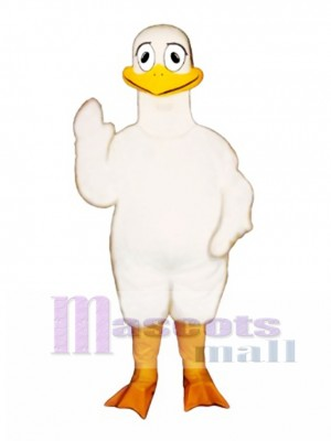 Cute Loony Loon Mascot Costume Bird