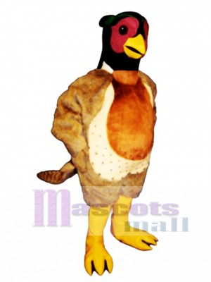 Cute Pheasant Mascot Costume Bird