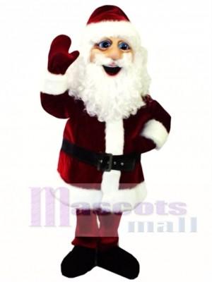 Cute St. Nicholas Mascot Costume Christmas Xmas