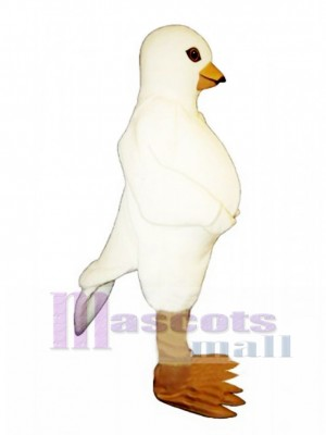 Cute Pigeon Mascot Costume Bird