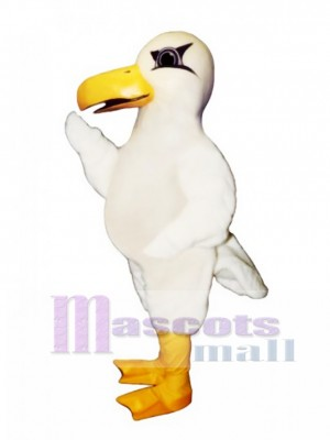 Cute Sealey Seagull Mascot Costume Bird