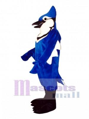Cute Jennie Blue Jay Mascot Costume Bird