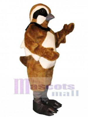 Cute Quail Mascot Costume Bird