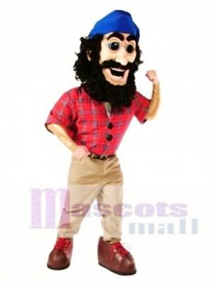 Lumberjack Mascot Costume People