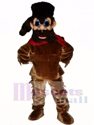 Frontiersman Mascot Costume People