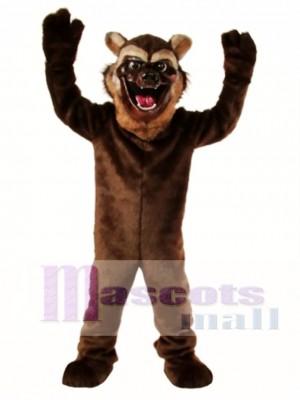 Cute Wolverine Wolf Mascot Costume Animal