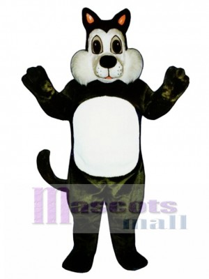 Cute Comic Cat Mascot Costume Animal