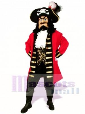 Fancy Captain Scratch Mascot Costume People