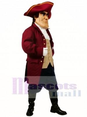 Patriot Mascot Costume People
