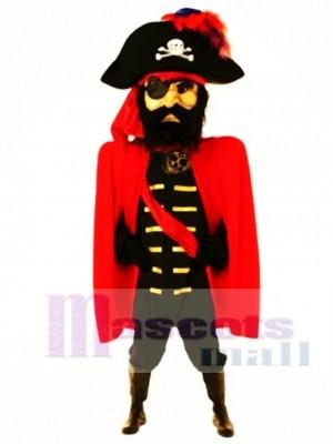 Giant Captain John Mascot Costume People