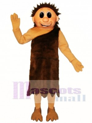 Ned Neanderthal Mascot Costume People