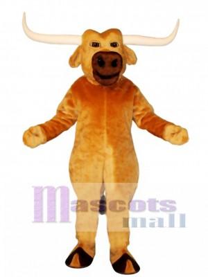 Cute Texas Longhorn Mascot Costume Animal