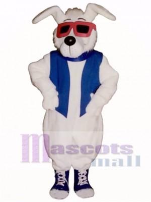 Cute Mellow Fellow Dog Mascot Costume Animal