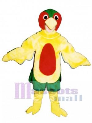 Cute Parrot Mascot Costume Bird