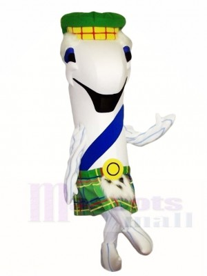 White Fish Mascot Costumes Sea Ocean