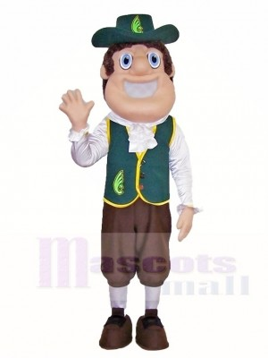 Quakerman Quakers Mascot Costumes People