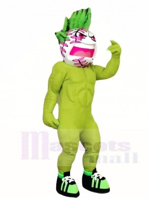Green Tennis Ball Mascot Costumes