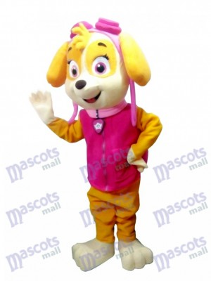 Paw Patrol Skye Adult Mascot Costume Dog Cartoon Character