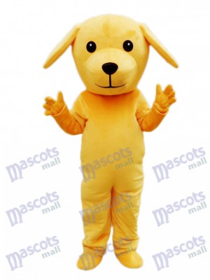 Yellow Dog Mascot Costume Animal