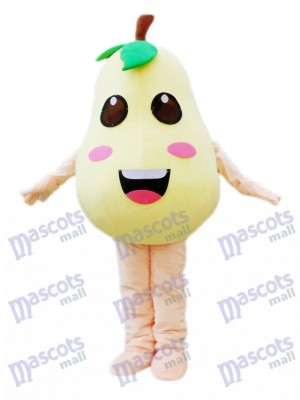 Pear Mascot Costume Plant Fruit