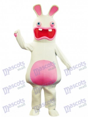 Rayman Raving Rabbit Easter Bunny Mascot Costume Animal