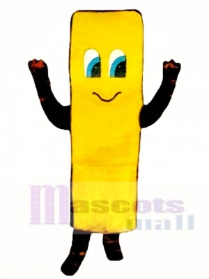 French Fry Mascot Costume