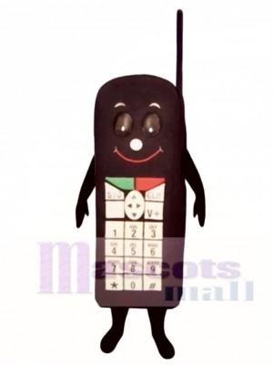 Black Cell Phone Mascot Costume