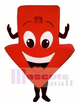 Red Arrow Mascot Costume