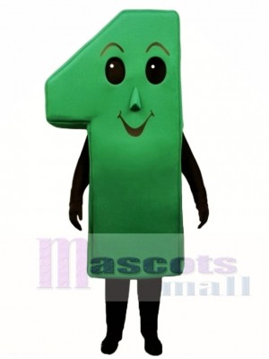 Number One Mascot Costume
