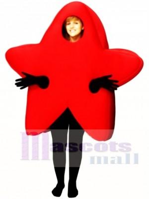 Red Star Mascot Costume