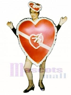 Valentine Mascot Costume