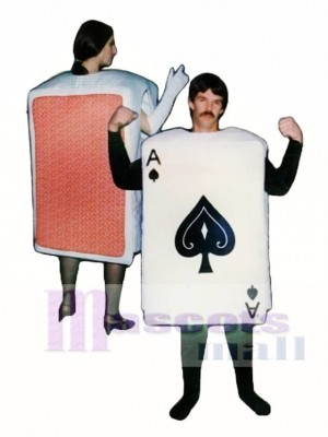 Deck of Cards Mascot Costume