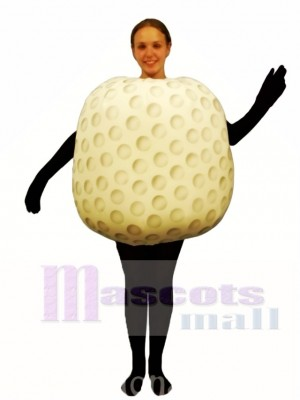 Gold Ball Mascot Costume