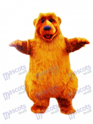Light Brown Bear Mascot Costume Animal