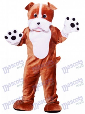 Dog Bulldog Adult Mascot Funny Costume