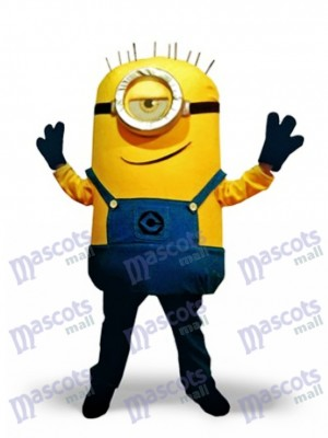 Stuart Despicable Me Minions Mascot Costume Cartoon