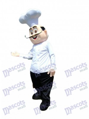 Restaurant Promotion Chef Cook Mascot Costume Cartoon