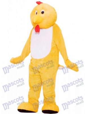 Yellow Chicken Mascot Costume Animal
