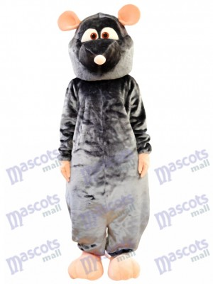 Grey Rat Mascot Costume Animal