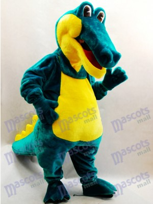 Green Crocodile Mascot Costume Animal