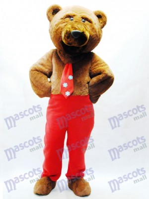 Dandy Bear Mascot Costume Animal