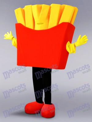 French Fries Mascot Costume Food