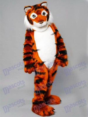 Friendly Tiger Mascot Adult Costume Animal