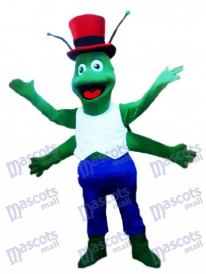 Green Grasshoppers Mascot Costume Insect