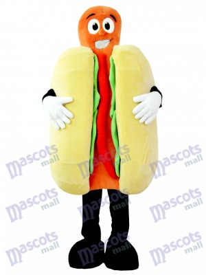 Hot Dog Mascot Costume Food