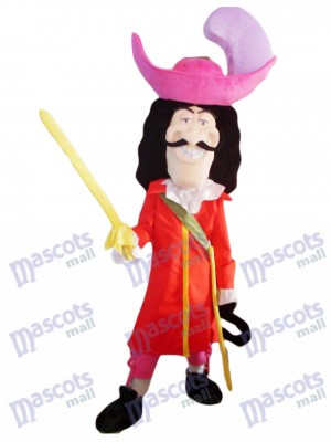 Swordsman Pirate Mascot Costume People